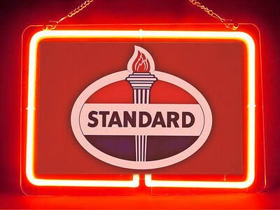 Standard Oil Garage Service Parts Display Decor Neon Sign