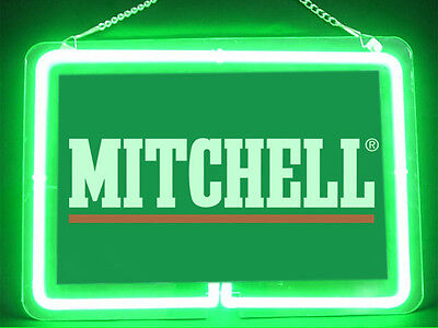 Mitchell Fly Fishing Service Parts Display Decor Neon Sign