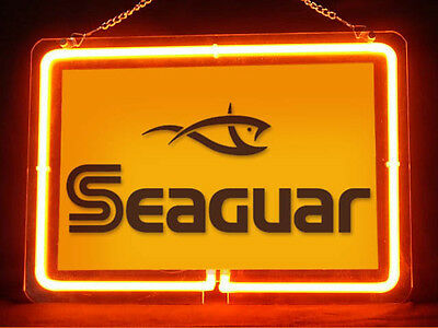 Seaguar Fly Fishing Service Parts Display Decor Neon Sign