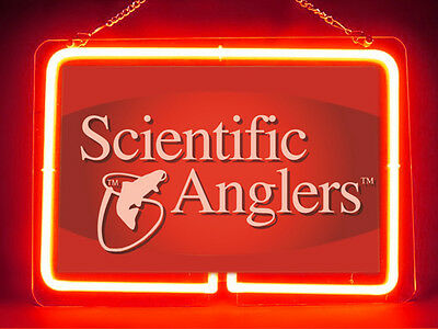 Scientific Anglers Fishing Service Parts Display Decor Neon Sign