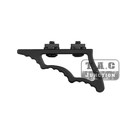 Tactical M-LOK Enhanced Angle Grip Aluminum Foregrip Hand Stop for MLOK Forends