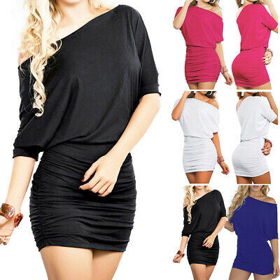 Sexy Womens Summer Bodycon Bandage Dress Club Party Cocktail Short Mini Dress