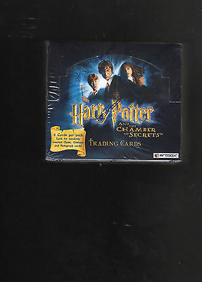Harry Potter The Chamber of Secrets sealed Hobby Box