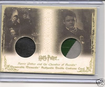 Harry Potter Memorable Moments DC4 Costume  card
