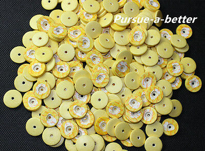 Medium Budget Yellow Flute Pads 16.5 mm