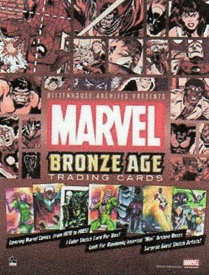Marvel  Bronze Age Complete MINI MASTER SET  all Inserts,Case Toppers+P1,P2,P4