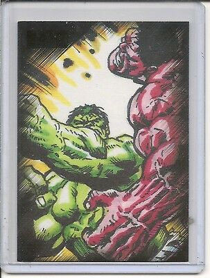 Marvel Heroes & Villains  PNSCS2 Promo card