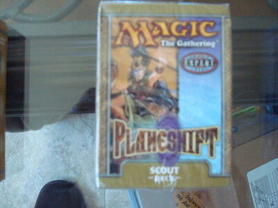 MTG Magic the Gathering Planeshift Scout Deck