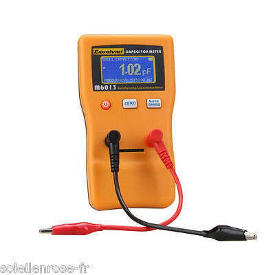 NEW LCD Digital Capacitor Capacitance Tester Meter Auto Range 470mF/ 470000uF US