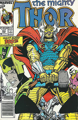 Thor 382 (Aug 1987, Marvel)  VF-  300th Giant Sized Issue