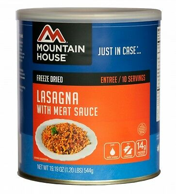 Lasagna with Meat Sauce #10 Can - Mountain House Freeze Dried Survival Food