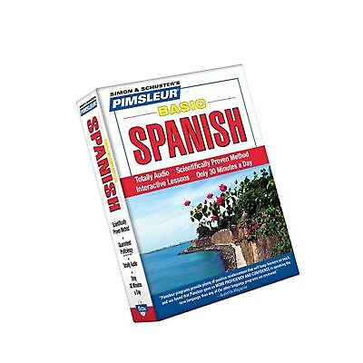 Pimsleur Learn to Speak SPANISH 5 CD Set. In Your Car Audio Book Basic Beginner