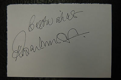 Roger Morgan Tottenham Hotspur    Signed Card