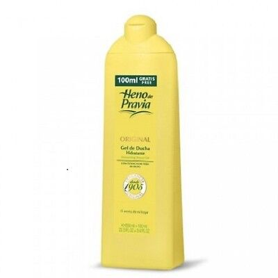 Genuine Heno De Pravia Moisturising Shower Gel - 650ml -with Olive Leaf Extract