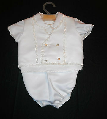 Vintage Baby Boy Christening Outfit by Prima Creations Soo Cute! 3 piece 18 mth