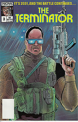 THE TERMINATOR 3...NM-...1988...Tony Caputo...Now Comics...VHTF Bargain!