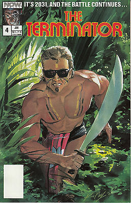 THE TERMINATOR 4...NM-...1989...Jack Herman...Now Comics...VHTF Bargain!