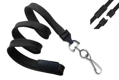 Premium Lanyard (1) with Safety Breakaway Clasp & Swivel J Hook by Specialist ID