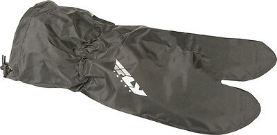FLY STREET - Motorcycle Glove Rain Covers (Black) L (Large)