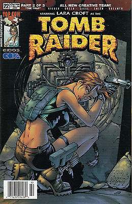 TOMB RAIDER 22...NM-...2002...Randy Green...HTF Bargain!