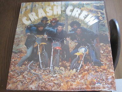 Crash Crew - S/t (1984) - Lp Reissue Sugarhill Mint Nuevo
