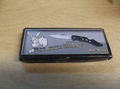 "The Jack Rabbit 6 1/2"" Frost Cutlery Folding Blade Pocket Knife In Box  New"