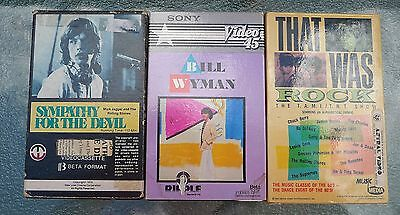 Rolling Stones 3 Beta Tapes: Sympathy For The Devil + Bill Wyman + That Was Rock