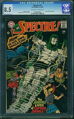 Spectre #1 CGC 8.5 -1st Issue of Spectre's Silver Age title -DC Key
