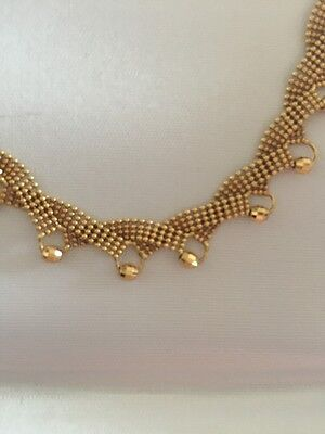 New Necklace And Bracelet Set 14k Yellow Gold 19 Grams
