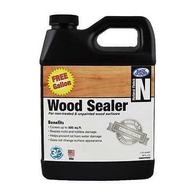 Premium Grade WOOD SEALER Water Repellent Protection (Makes 2 Gal - 1 Free!)