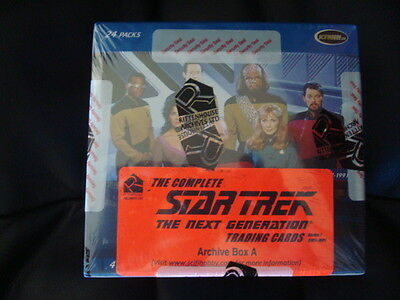 Star Trek the Complete The Next Generation series 1 Archive Box