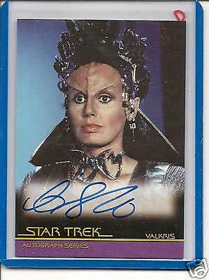 Star Trek Movies The Complete A13 C.Shirriff  auto card