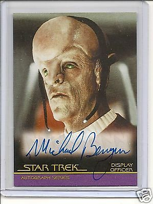 Star Trek Movies The Complete A18 M.Berryman  auto card