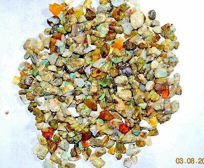 Natural Royal flashy ethiopian opal rough wholesale lot 10 Cts Every Piece Fire