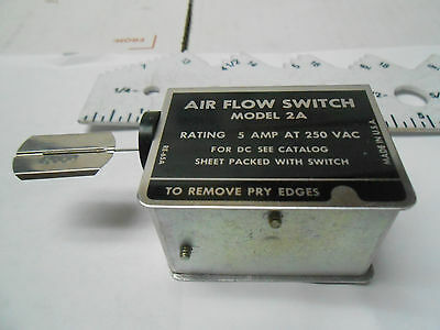 2Aw2000 Rotron Air Flow Switch 250V 5 Amp New Old Stock Model 2A