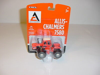 1/64 New Allis Chalmers 7580 Tractor W/Duals by ERTL NIP!