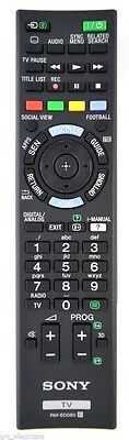 Genuine Sony RM-ED060 Remote Control Replaces Discontinued RM-ED053 / RMED053