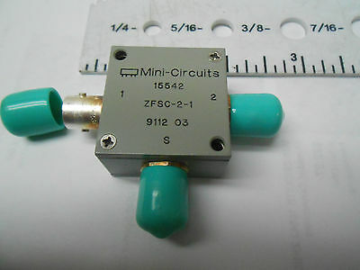 ZFSC-2-1 BNC Mini Circuits POWER DIVIDER 5-500 MEGA HZ  NEW OLD STOCK