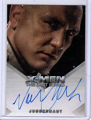 X-Men 3 The Last Stand  Vinnie Jones auto  card