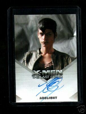 X-Men 3 The Last Stand  Omahyra auto  card