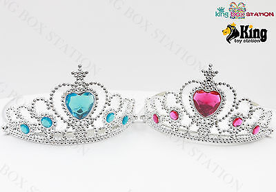 Frozen Princess Elsa Costume Queen Lovely Tiara Crown/ Gloves U Pick