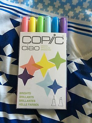 Copic Markers Bright Set