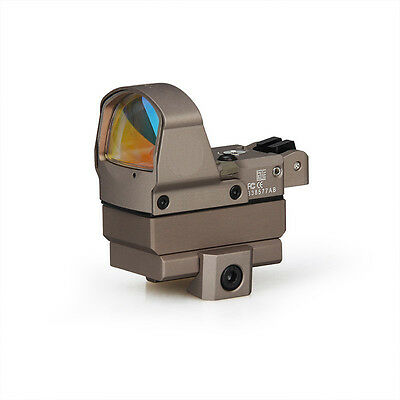 Tactical D-Point Pro Red Dot Sight With 1911,1913 And Glock Mount (BK/DE)