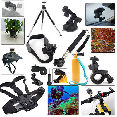 Kit Accessories Mount Set for Sony Action Cam HDR AS15 AS20 AS200V AS30V AS100V