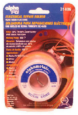 ALPHA METALS 1-oz., 0.062-Diameter Leaded Electrical Solder