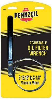 CUSTOM ACCESSORIES Small Pennzoil Oil Filter Strap Wrench
