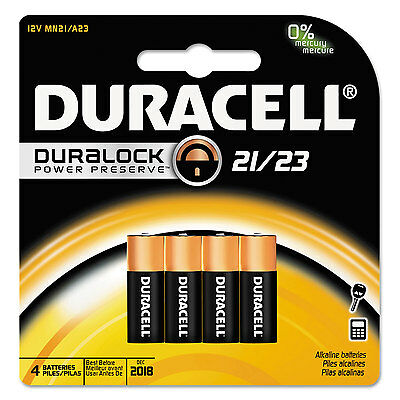 CopperTop Alkaline Batteries with Duralock, 21/23, 4/Pk