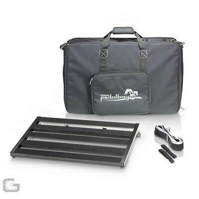 Palmer Pedalbay 60L Light Pro Aluminum Pedalboard With Carry Case 60cm