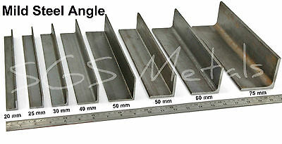 Mild Steel ANGLE Iron Excellent range of sizes & Lengths available