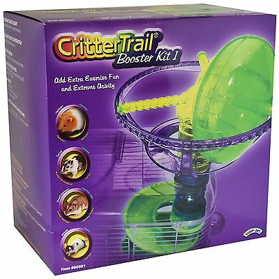 Superpet Critter Trail Accessory Booster Kit Extreme Exercise Wheel Spiral Slide